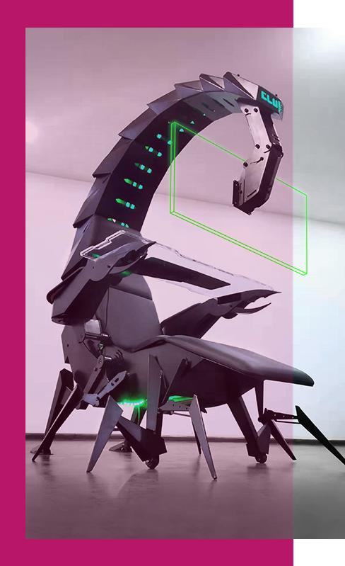 Cluvens Scorpion Computer Cockpit Cluvens